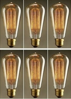 Set of 6 Edison ST64